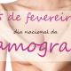 Dia Nacional da Mamografia